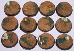 12x Brick Floor 25mm bases.