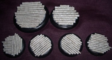10x Bamboo Floor 30mm base inserts