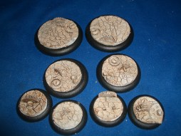 5x Cog Floor 40mm base inserts