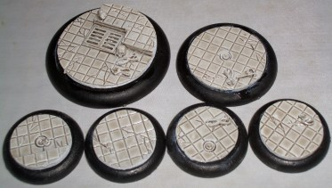 1x 50mm 1x 40mm 4x 30mm Laboratory Floor base inserts