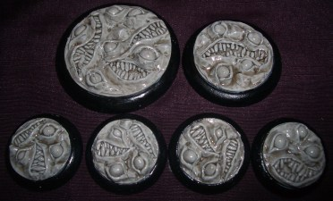 10x Nightmare bases 30mm base inserts