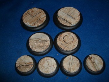 10x Roads & Pavements 30mm base inserts