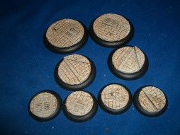 5x Victorian Street Floor 40mm base inserts