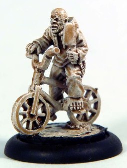 1 Ghoul on a bike