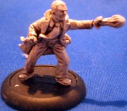 Occult investigator casting a fireball
