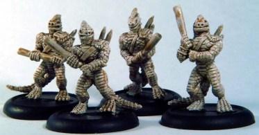 5 Daggon heavily armoured ones