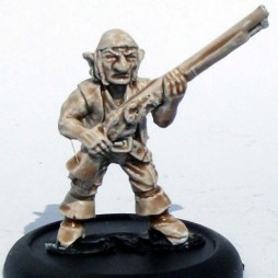 Goblin with musket