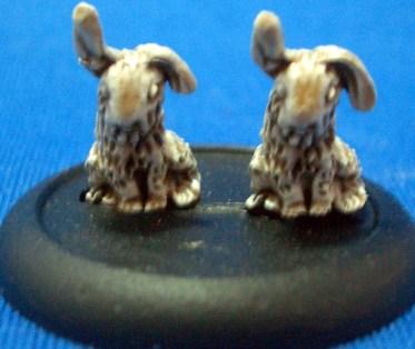 4x Rabbits