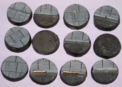 12x Roads & Pavements 25mm bases