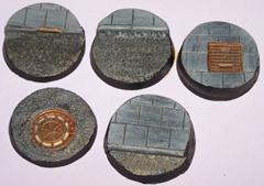 5x Roads & Pavements 40mm bases