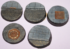 5x Roads & Pavements 40mm bases