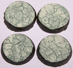 12x Ruined Temple 25mm bases