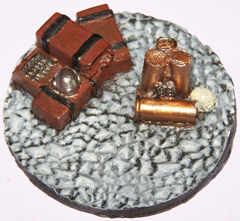 1x Stone floor 60mm objective marker.