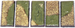 5x swamp land 25mm x 50mm bases