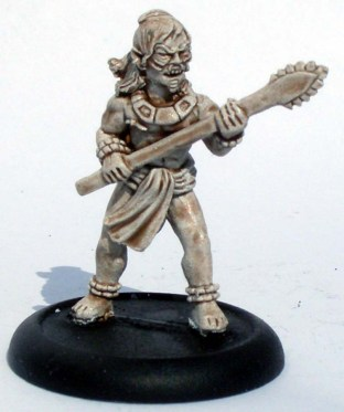 Tribal Warrior with a spear 2