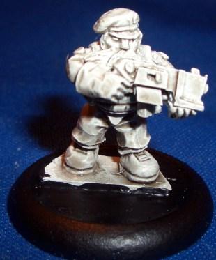 Space Dwarf Trooper 6 (B'Dass)
