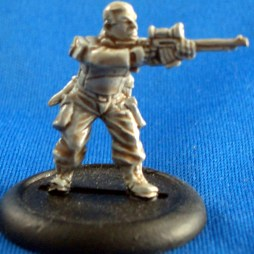 Trooper with Automatic rifle