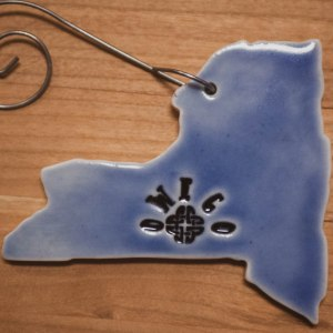 Owego-NY-Blue-Ornament-Black-Cat-Gallery-Owego