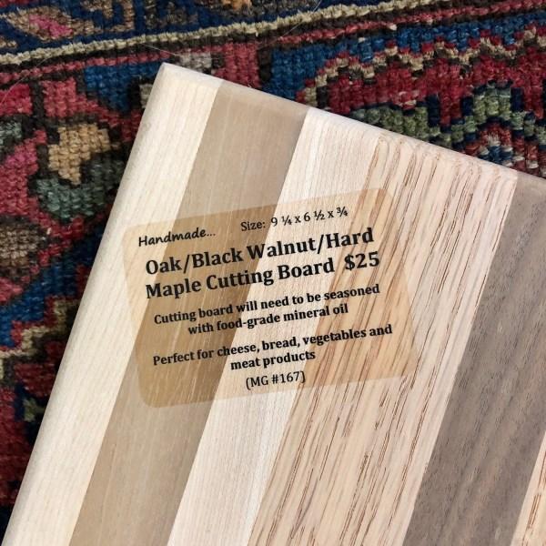 oak maple cutting board