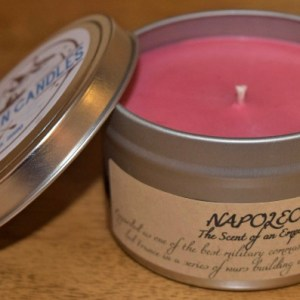 Napoleon Candle, scent of an Emperor