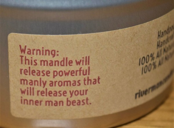 soy candle man candle, scented