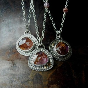 Cacoxenite Super 7 Melody's Stone Pendant