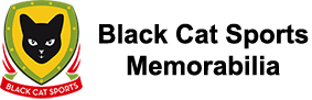 Black Cat Sports Memorabilia Logo