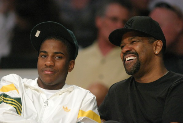 Denzel and son
