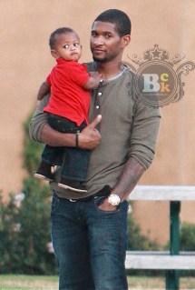 Usher Raymond Baby