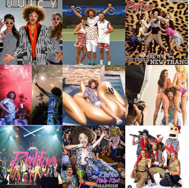 Getting Freaky With Redfoo / Black Chalk Magazine