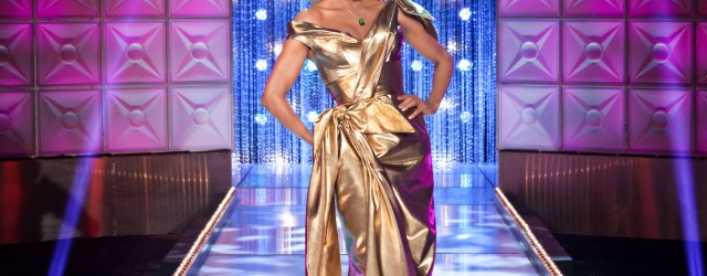"""This gold lame 50's moment made me feel like a movie star from an MGM musical."" RuPaul"