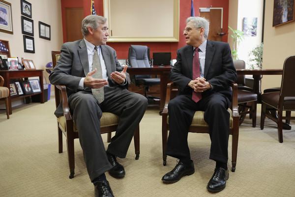 Jeff Merkley Meets With Supreme Court Nominee Merrick Garland
