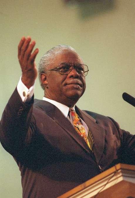 "Longtime Baptist minister Charles L. Jackson drew praise for having ""an independent mind."" Photo: Carlos Antonio Rios, Staff"