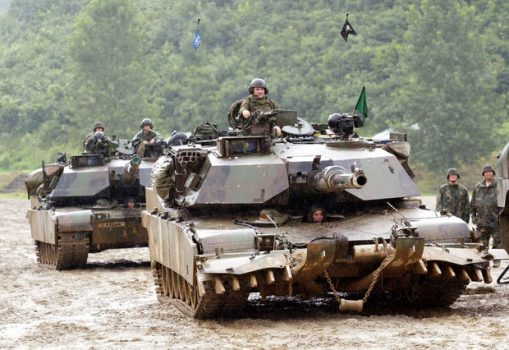 US forces are training in South Korea with forces from Seoul