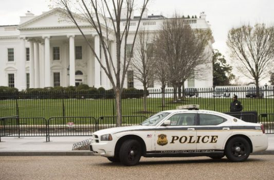 The Secret Service has bolstered security at the White House after a man was arrested making threats at one of its checkpoints in the third such security scare in just over a week (AFP Photo/SAUL LOEB)