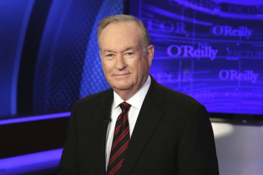 "Bill O'Reilly of the Fox News Channel program ""The O'Reilly Factor,"" poses for photos in New York. (Photo by Richard Drew/AP/REX/Shutterstock)"