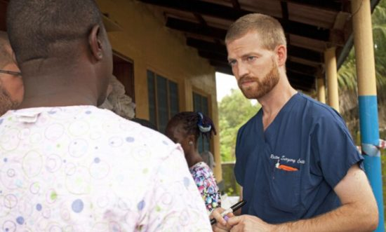 "Dr. Kent Brantly and his wife Amber released their book ""Called for Life: How Loving Our Neighbor Led Us Into the Heart of the Ebola Epidemic"" on July 21, 2015. (PHOTO: ROSLAN & CAMPION PUBLIC RELATIONS)"