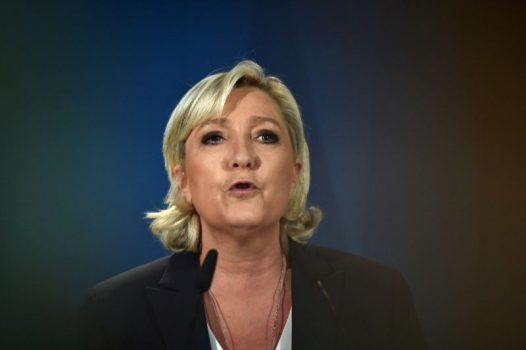 Far-right leader Marine Le Pen is vying for a seat in France's parliament for the first time (AFP Photo/Denis Charlet )
