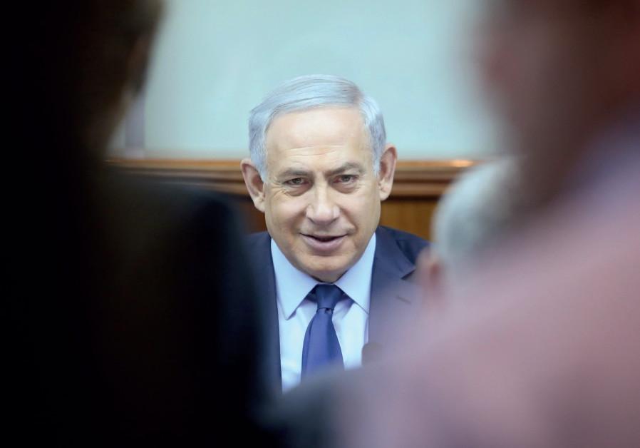 Israeli Prime Minister Benjamin Netanyahu. (Photo credit: MARC ISRAEL SELLEM/THE JERUSALEM POST)