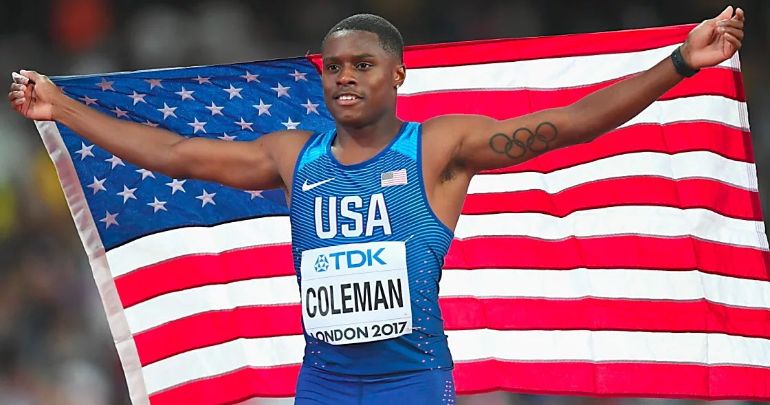 Track His Phone >> Who is Christian Coleman, the Tennessee Sprinter Who Beat ...