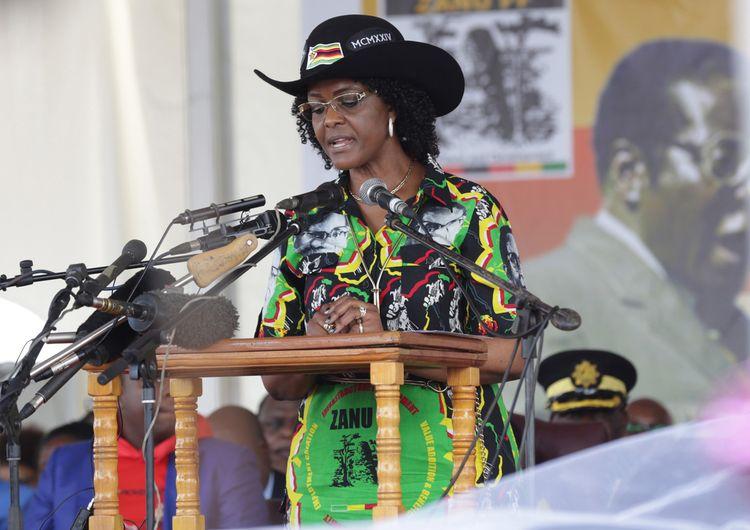 Grace Mugabe (Source: Anadolu Agency via Getty Images)