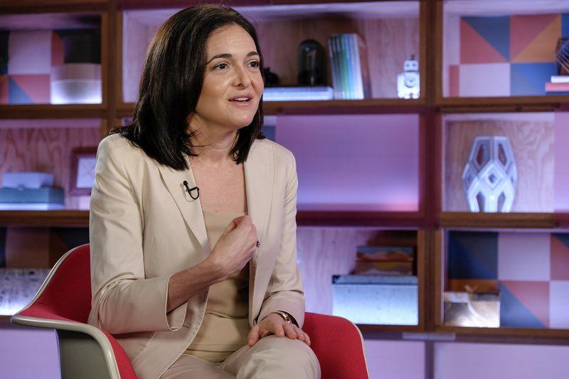 Sheryl Sandberg (Photographer: Michael Short/Bloomberg)