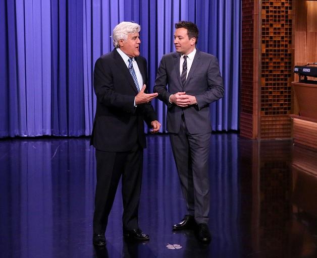 Jay Leno and Jimmy Fallon (Andrew Lipovsky/NBC)