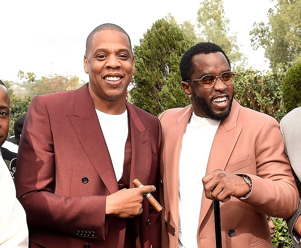Jay Z and Diddy (Kevin Mazur/Getty Images for Roc Nation)