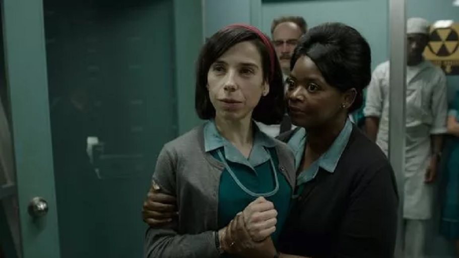 Sally Hawkins and Octavia Spencer are both nominated for 'The Shape of Water,' which is up for 13 Oscars. (Photo: 20th Century Fox Film)