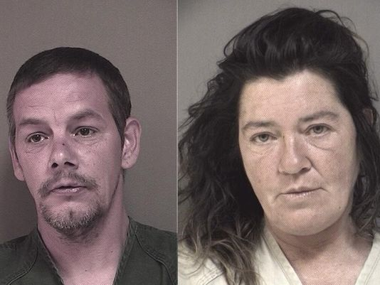 Anthony Michael Getchius, 43, of Newark and Noelle Marie Smart, 48 (Photo: Courtesy Ocean County)