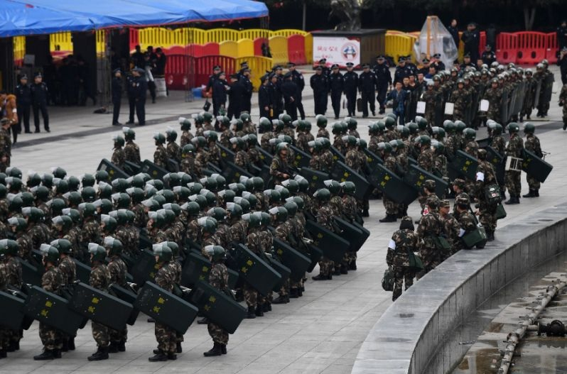 The weapon is 'mainly expected to be for Chinese police use' (AFP Photo/Greg Baker)