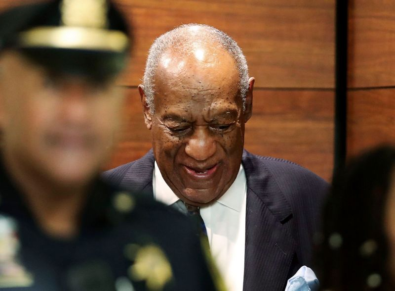 Bill Cosby arrives for his sentencing hearing at the Montgomery County courthouse in Norristown, Pa (Credit: Photo by David Maialetti/AP/REX/Shutterstock)