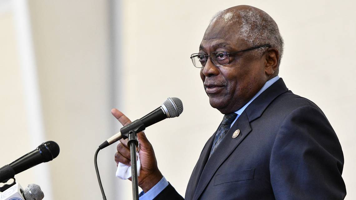 U.S. Representative James Clyburn, a Democrat who represents South Carolina's 6th Congressional District, had some interesting things to say during an interview. (C. Rush, The State)