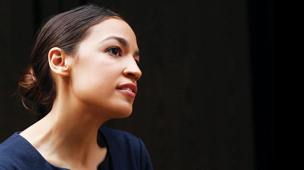 Alexandria Ocasio-Cortez (Photo by Mark Lennihan/AP/REX/Shutterstock)
